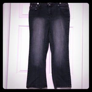 No Boundaries Distressed Stretch Jeans